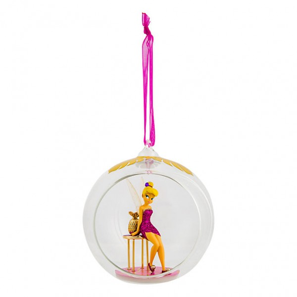 Disney Tinker Bell Open Bauble Christmas Ornament