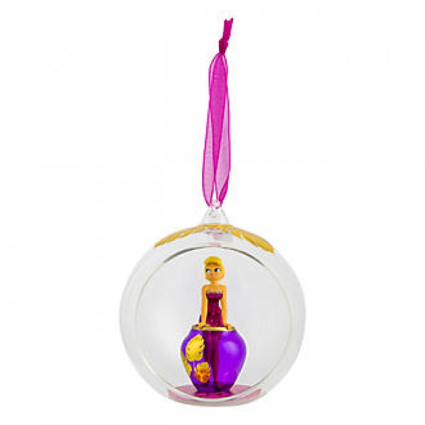Disney Tinker Bell with vase Bauble Christmas Ornament