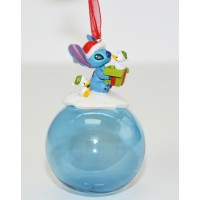 Disney Stitch Christmas Bauble Ornament, Disneyland Paris