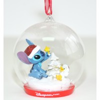 Disney Stitch Light-up Christmas Bauble, Disneyland Paris