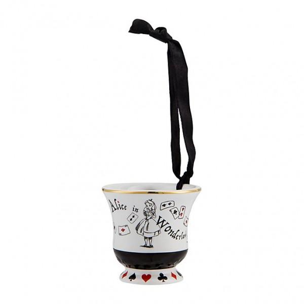 Alice in Wonderland Cup ornament, New collection Disneyland Paris