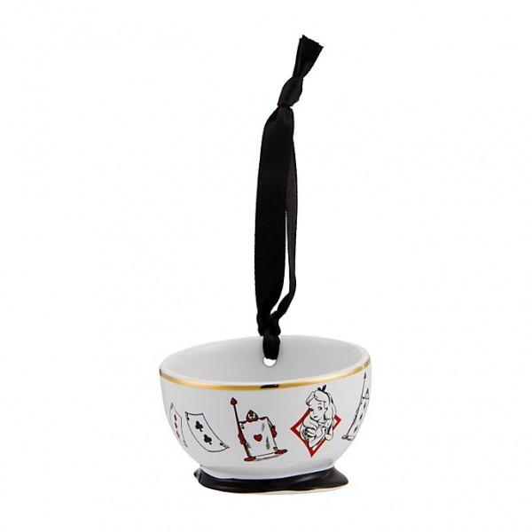 Alice in Wonderland bowl ornament, New collection Disneyland Paris