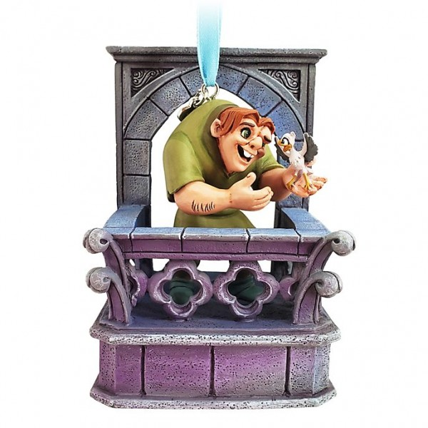 Disney Quasimodo Singing Hanging Ornament