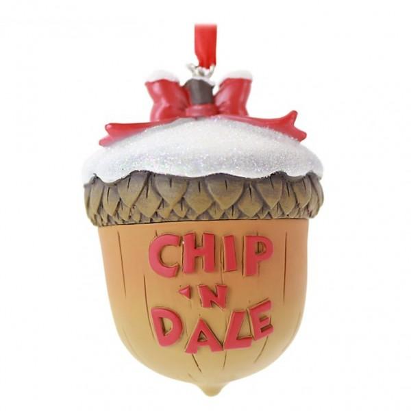 Chip 'n' Dale Festive Hanging Ornament, Disney