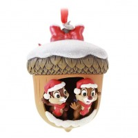 Chip 'n' Dale Festive Hanging Ornament, Disney