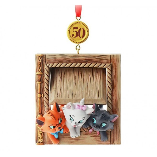 The Aristocats 50th Anniversary Legacy Sketchbook Christmas Ornament, Disney