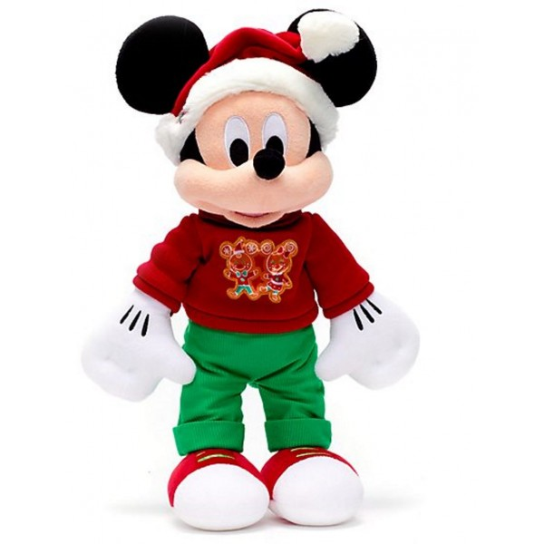 Mickey Mouse Vintage Christmas Soft Toy, Disney