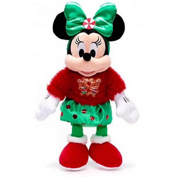 Minnie Mouse Vintage Christmas Soft Toy, Disney