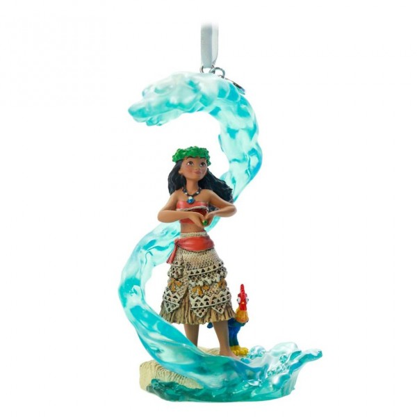 Moana Fairytale Moments Sketchbook Christmas Ornament