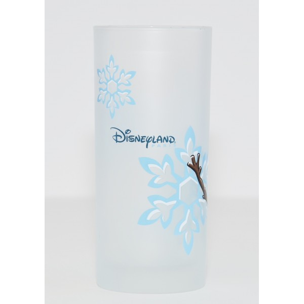 Olaf Character Drinking Glass, Disneyland Paris