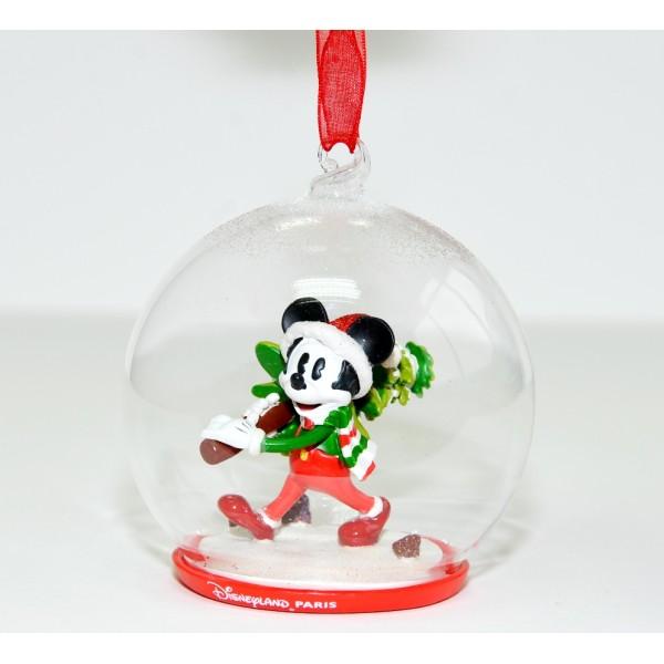 Disneyland Paris Mickey Mouse Christmas bauble Ornament