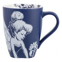 Tinker Bell Blue and White baroque Mug