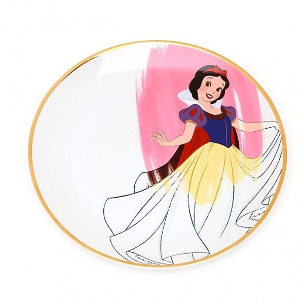 Disney Parks Ink & Paint set of 4 Plates