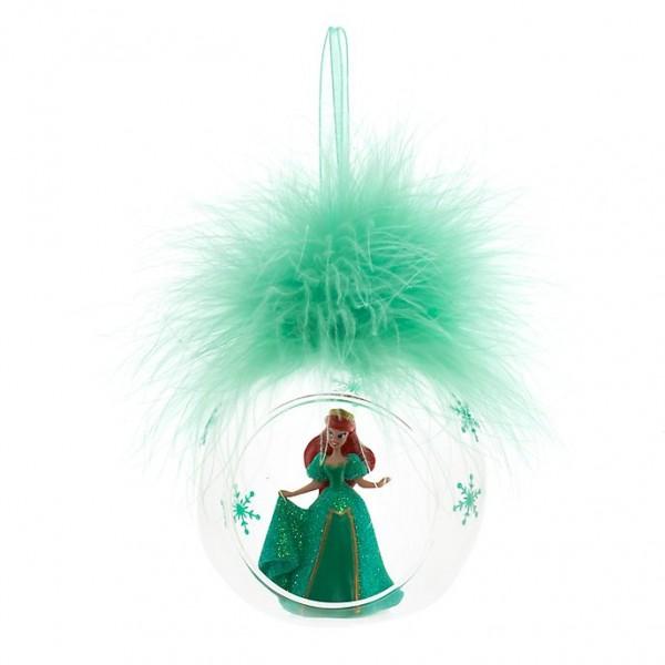 Ariel Bauble Christmas Ornament