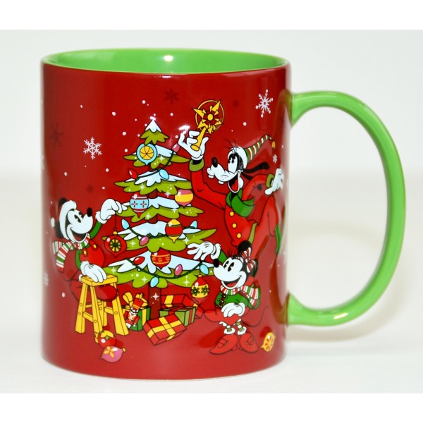 Disney Character Christmas mug, Disneyland Paris