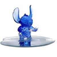 Disney Stitch on Surfboard, Arribas Glass Collection