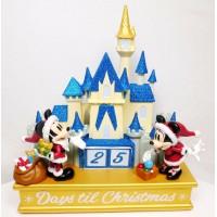 Disneyland Paris Christmas Countdown Calendar - Mickey & Minnie with Castle