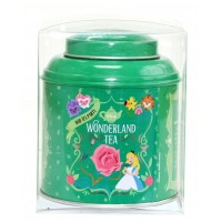 Wonderland tea box Green tea Mint Organic, Disneyland Paris