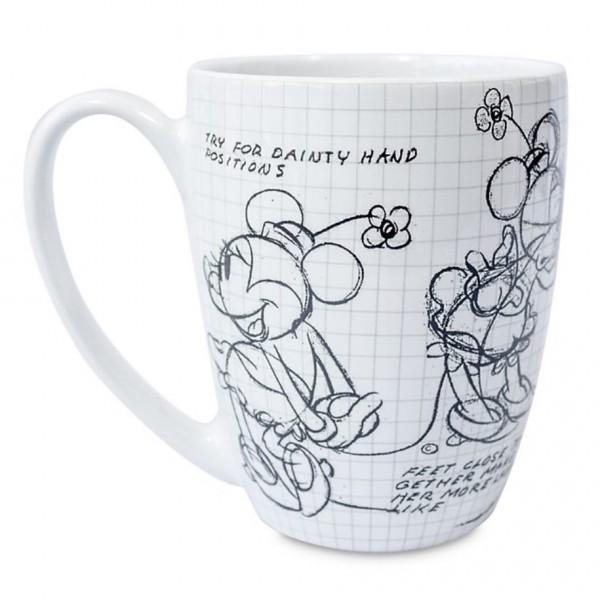 Minnie Mouse sketch Mug, Disney