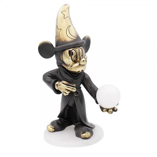 Disney Mickey Mouse Sorcerer's Apprentice Arribas Bronze Figurine, Fantasia