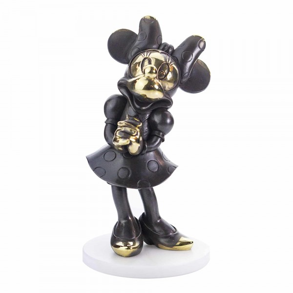 Disney Minnie Mouse Bronze Figurine, By Arribas Collection