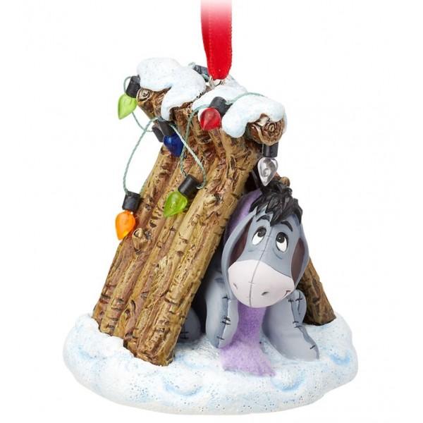 Disney Eeyore Festive Hanging Ornament, Winnie the Pooh