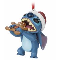 Disney Parks Stitch Festive Hanging Ornament