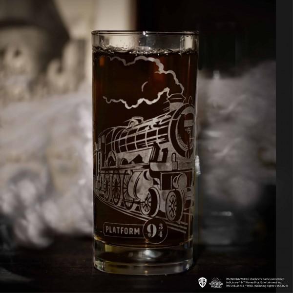 Hogwarts Express High Glass, Harry Potter Arribas Collection