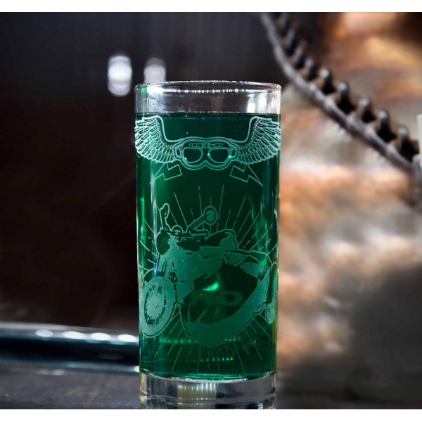 Flying Motorcycle High Glass, Harry Potter Arribas Collection
