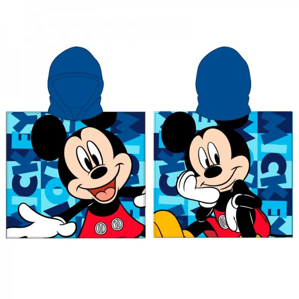 Mickey Mouse Hooded Poncho Towel for kids - Disney
