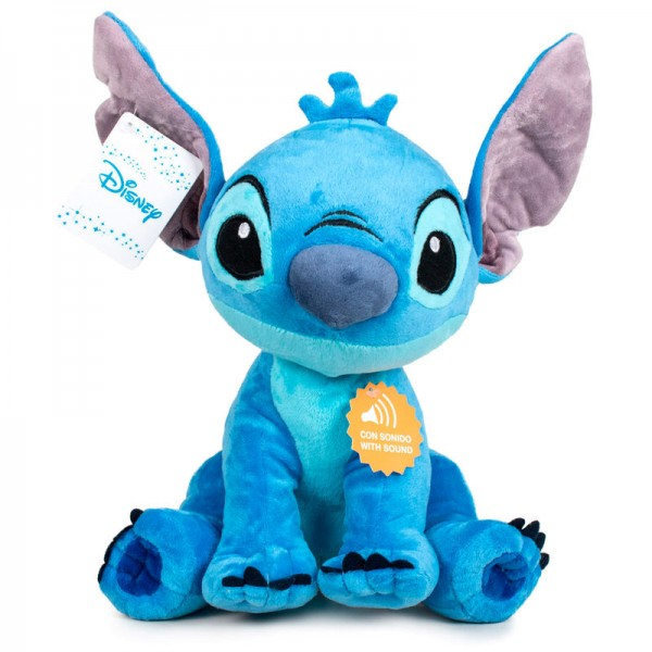 Stitch soft plush toy with sound