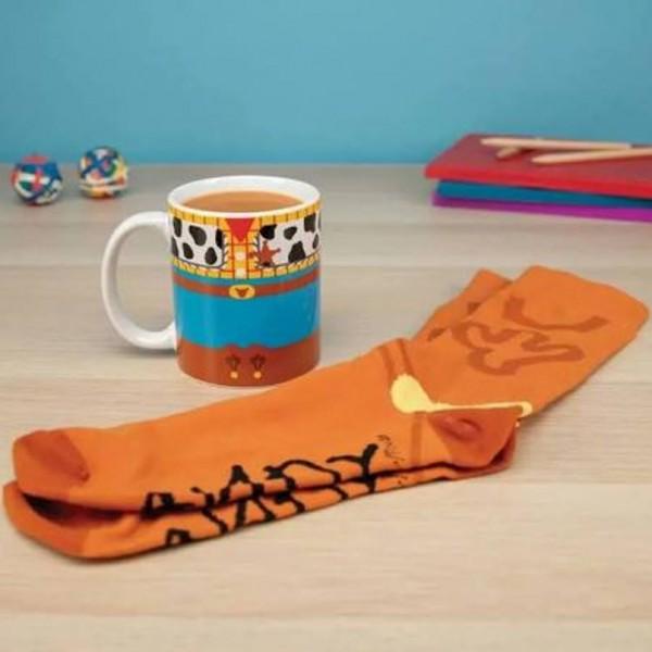 Toy Story Woody Mug and Sock Set - Disney