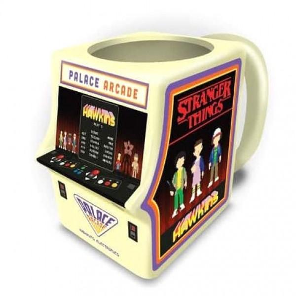 Stranger Things Palace Arcade 3D mug