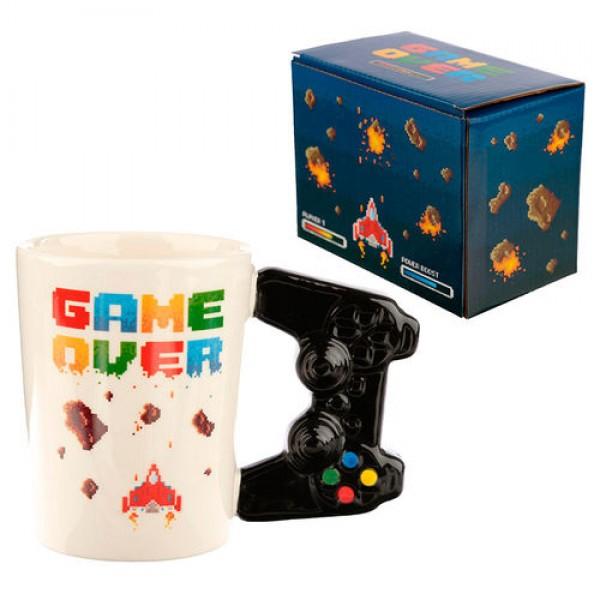 Controller Videogame shaped handle mug - Game Over
