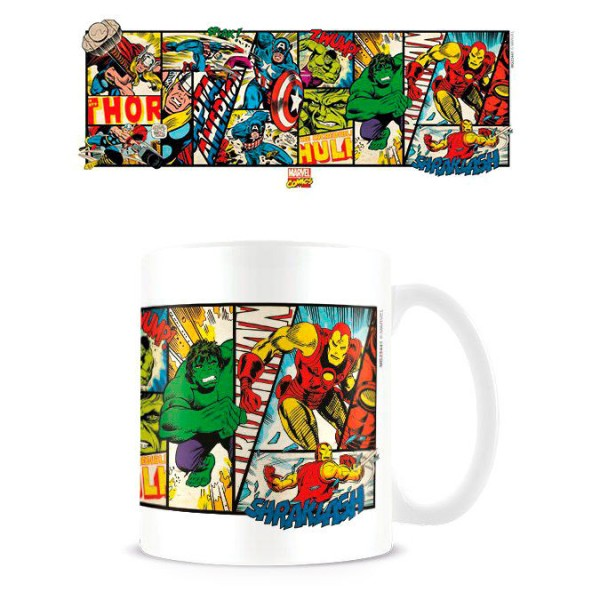 Marvel Retro Comics mug