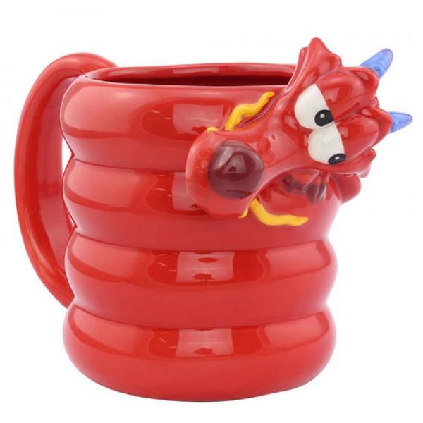 Mulan Mushu 3D mug - Disney