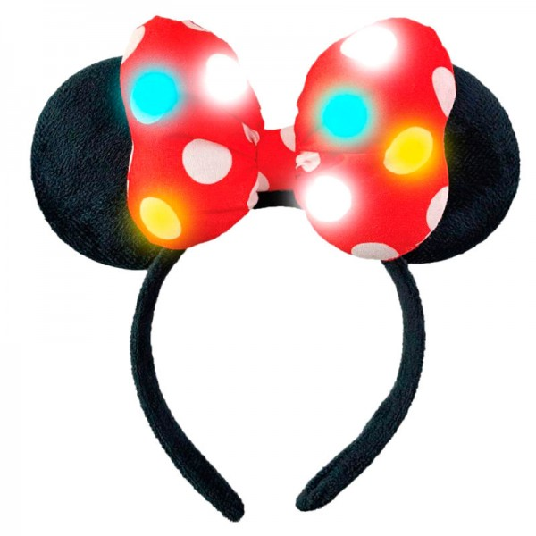Minnie Mouse lights-up Headband ears