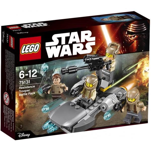 Lego 75131 Resistance Trooper Battle