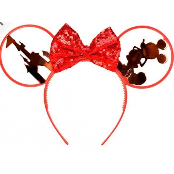 Minnie Mouse Red Ears Headband, Disneyland Paris