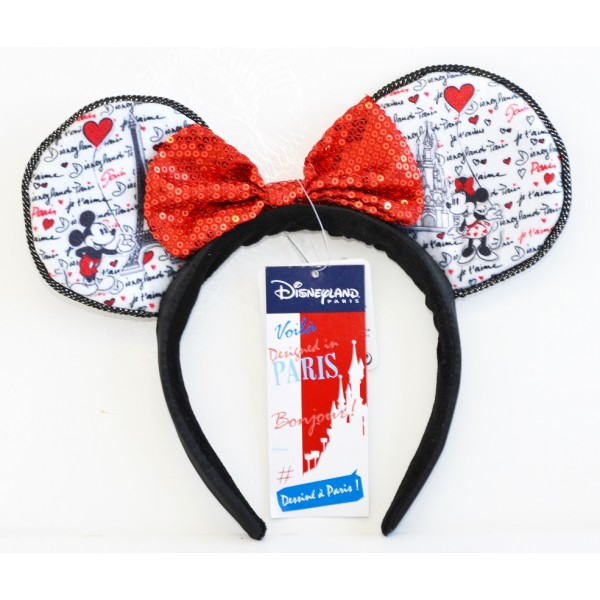 Mickey and Minnie Headband ears, Disneyland Paris