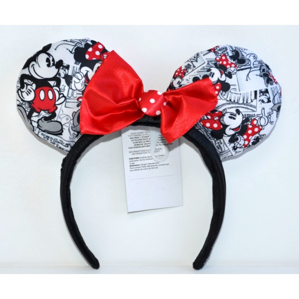 Minnie Mouse Comic Strip ears, Disneyland Paris