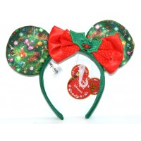 Disneyland Paris Christmas Headband ears