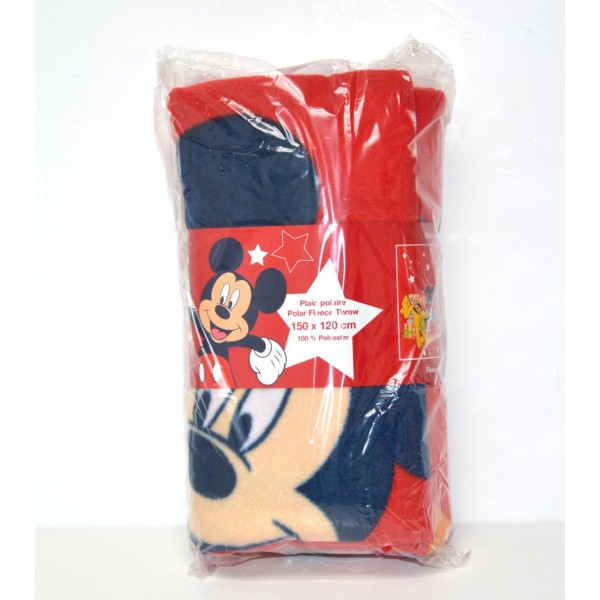 Disneyland Paris Mickey Mouse in the Park Fleece Blanket