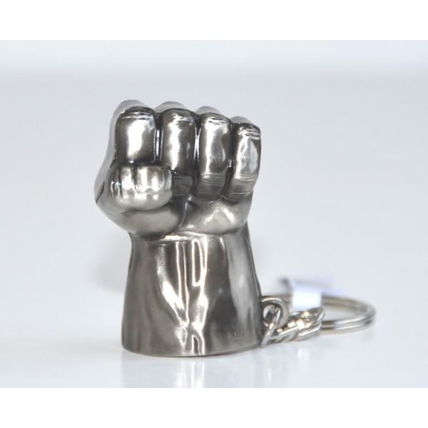 Disney Hulk hand Keychain Metal Plate Key Ring