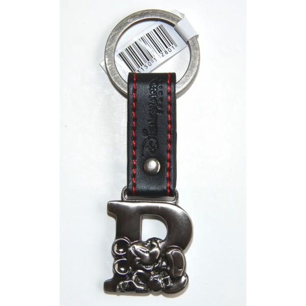 Mickey Mouse Letter initial R keyring, Disneyland Paris