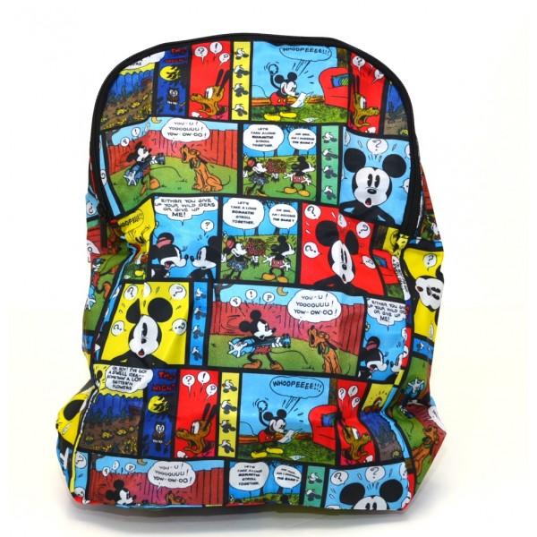 Mickey Mouse comic Foldaway Backpack, Disneyland Paris