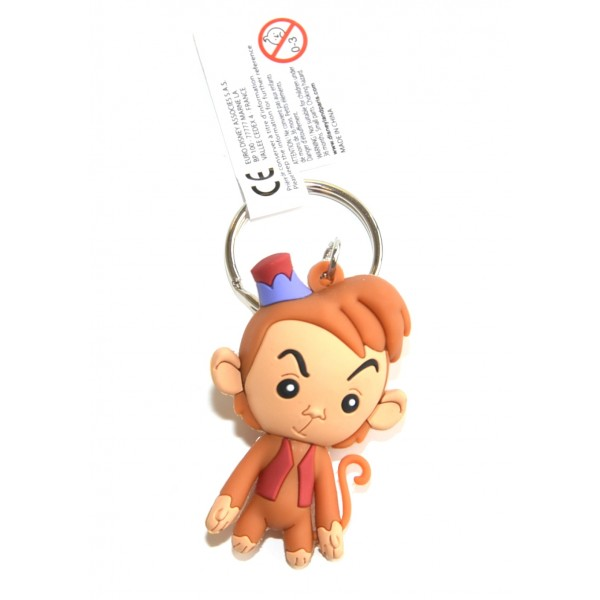 Disney Abu from Aladdin 3D keyrings, Disneyland Paris