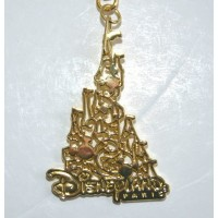 Disneyland Paris Castle and Mickey icon Keyring