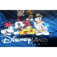 Mickey and friends Fleece Blanket, Disneyland Paris