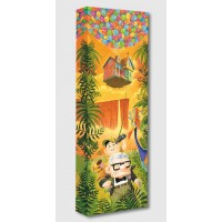 Up ''Journey to Paradise Falls'' Giclée on Canvas by Tim Rogerson – Limited Edition